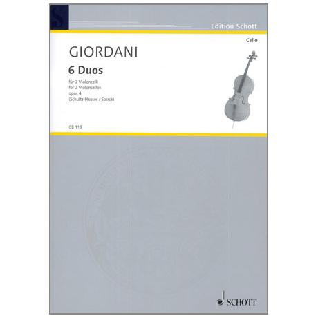 Giordani, T.: 6 Duos Op. 4