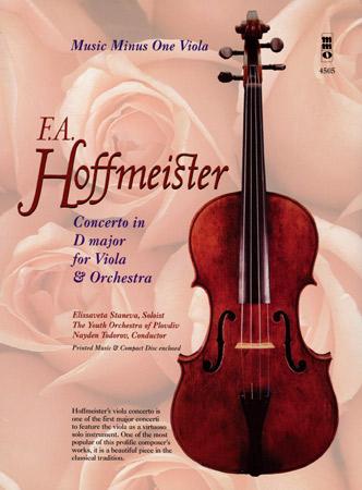 Hoffmeister, F. A.: Konzert D-Dur (+ CD)
