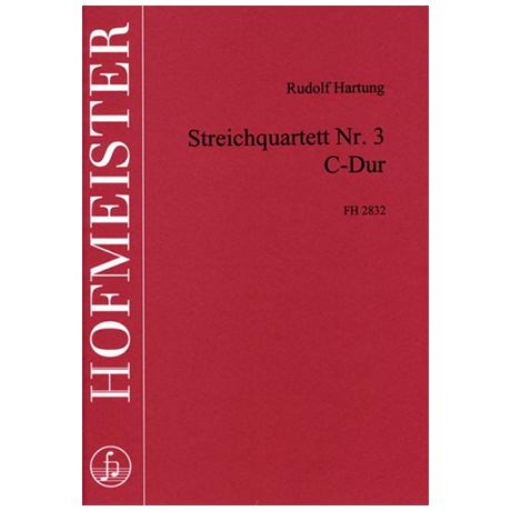 Hartung, R.: Streichquartett Nr. 3 C-Dur