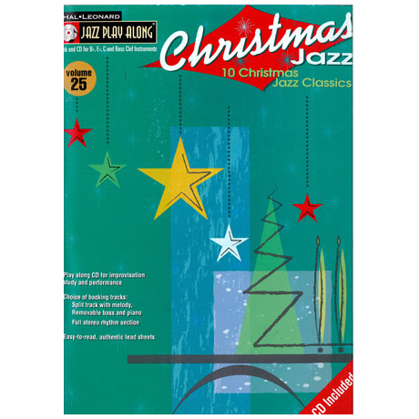 Jazz Play Along: Volume 25 – Christmas Jazz (+CD)