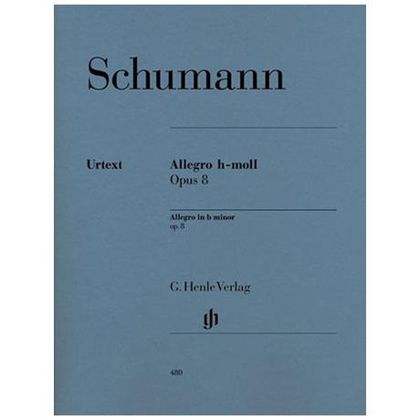 Schumann, R.: Allegro h-Moll Op. 8