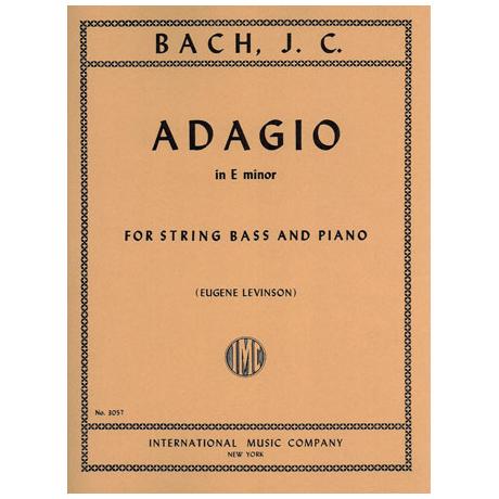 Bach, J. Chr.: Adagio E minor