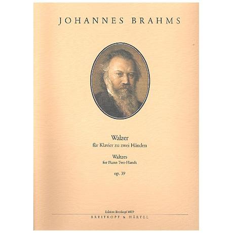 Brahms, J.: Sechzehn Walzer Op. 39