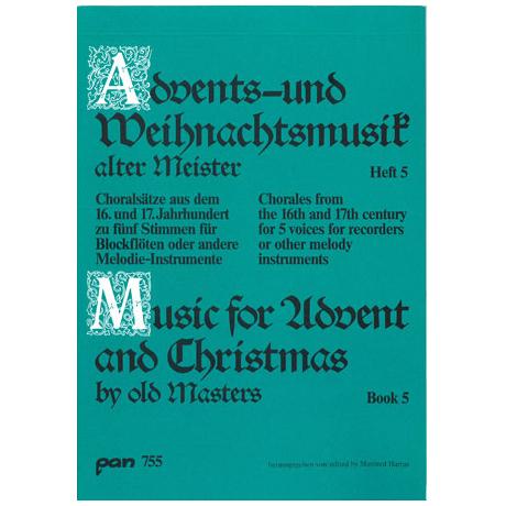 Advents - und Weihnachtsmusik alter Meister 5