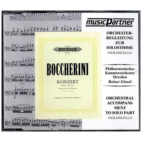 Boccherini, L.: Violoncellokonzert Nr. 9 G.482 B-Dur Compact-Disc CD
