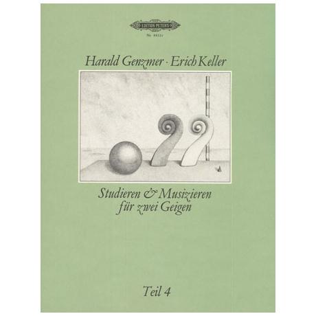 Genzmer, H.: Studieren und Musizieren: Teil 4