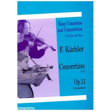 Küchler, F.: Concertino Op. 11 G-Dur