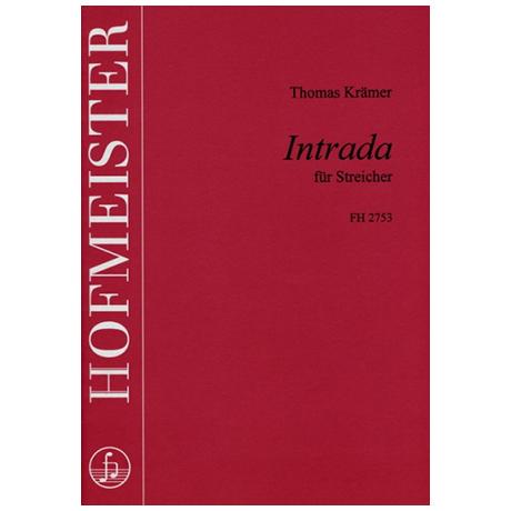 Krämer, T.: Intrada für Streicher