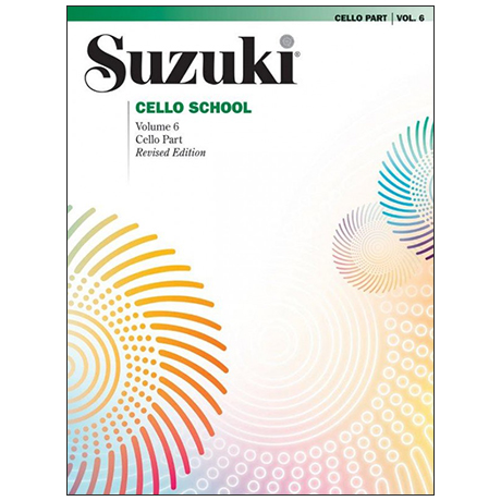 Suzuki Cello School Vol. 6