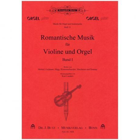 Romantische Musik für Violine und Orgel Band 1