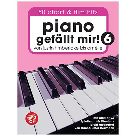 Heumann, H.-G.: Piano gefällt mir! 50 Chart und Filmhits Band 6 (+MP3-CD)