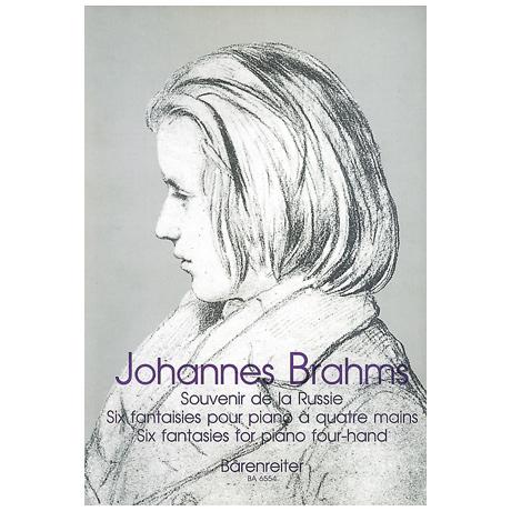 Brahms, J.: Souvenir de la Russie – sechs Fantasien