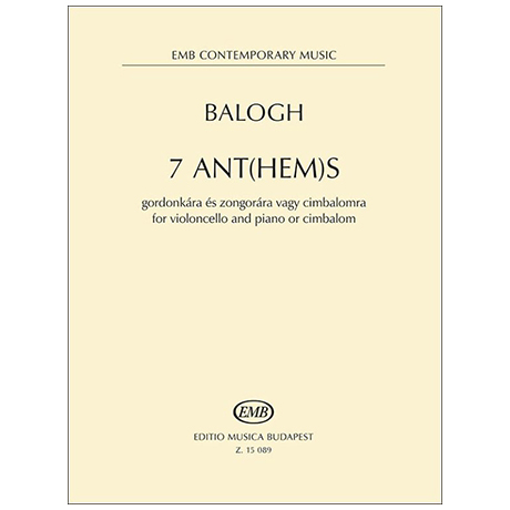 Balogh, M.: 7 Ant(hem)s