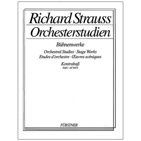 Orchesterstudien: Strauss, R.: Bühnenwerke Band 1