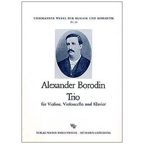 Borodin, A.: Klaviertrio Op. posth. D-Dur