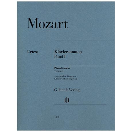 Mozart, W. A.: Klaviersonaten Band I