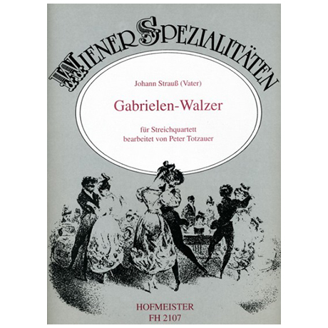 Strauss, J. (Vater): Gabrielen-Walzer Op. 68