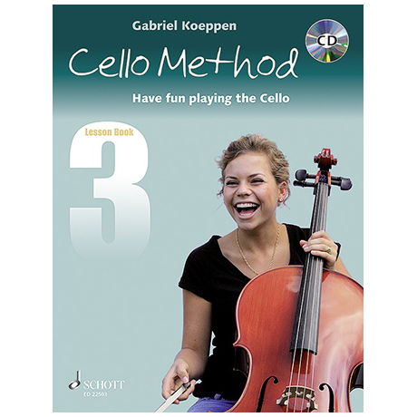 Koeppen, G.: Cello Method Lesson Book 3 (+CD)