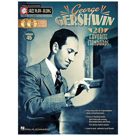 Gershwin, G.: 20 Favorite Standards (+2 CDs)