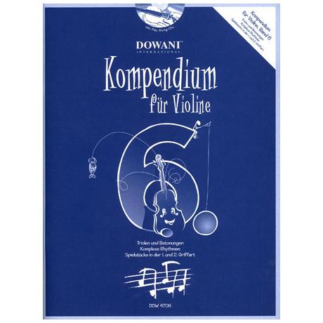 Kompendium für Violine – Band 6 (+CD)