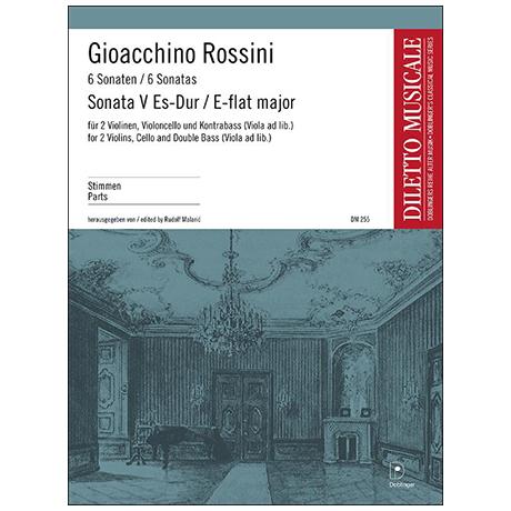 Rossini, G. A.: Sonata Nr. 5 Es-Dur – Stimmen