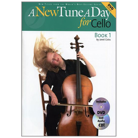 A New Tune a Day: Cello – Book 1 (DVD Edition)