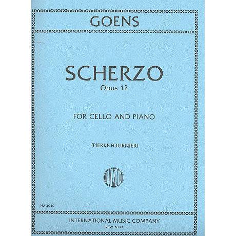 Goens, D. v.: Scherzo Op. 12