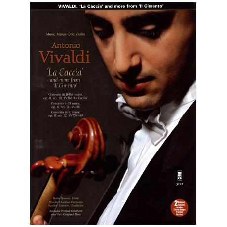 """Vivaldi: La Caccia and more from """"Il Cimento"""" (+2CDs)"""