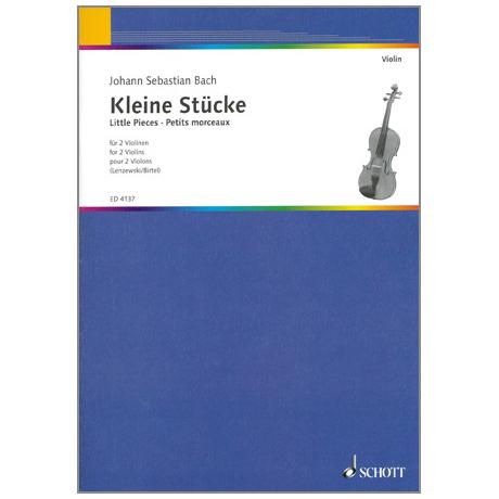 Bach, J, S.: Kleine Stücke