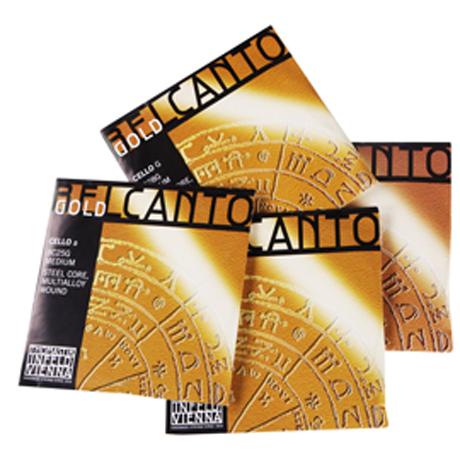 THOMASTIK Belcanto Gold cello string SET