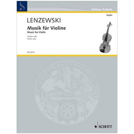 Lenzewski, G.: Musik für Violine solo (1951)