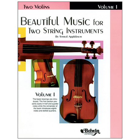 Applebaum, S.: Beautiful Music for two String Instruments Vol. 1 – Violin