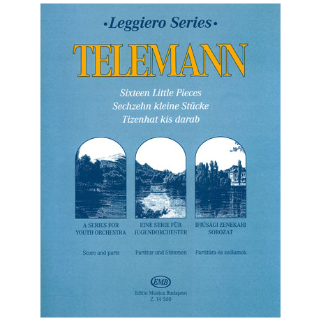 Telemann, G. Ph.: 16 kleine Stücke