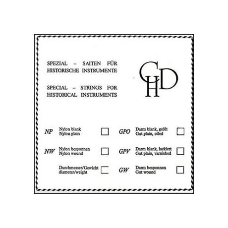 CHD violin string D
