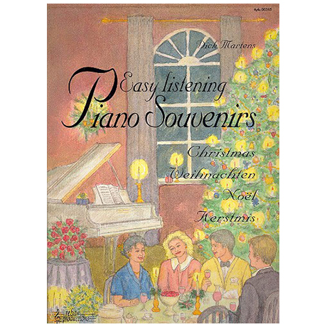 Easy Listening Piano Souvenirs - Christmas