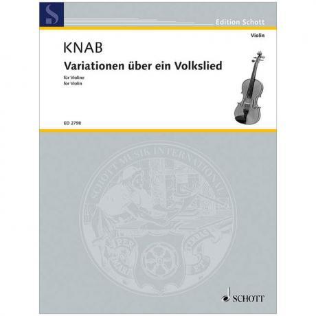 Knab, A.: Variationen über ein Volkslied (1950)