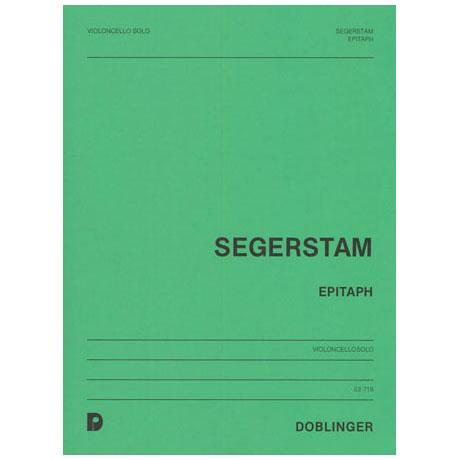 Segerstam, L.: Epitaph