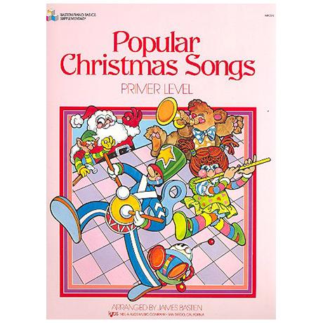 Bastien, J.: Popular Christmas Songs - Grundstufe