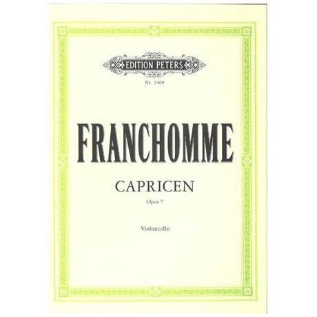 Franchomme, A.: Zwölf Capricen Op. 7