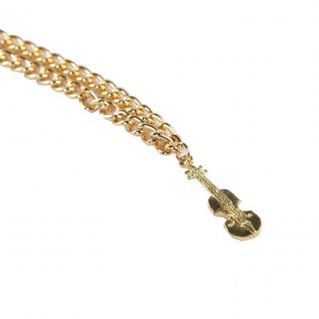 Bracelet Violin golden
