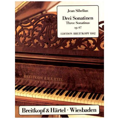 Sibelius, J.: Drei Sonatinen Op. 67