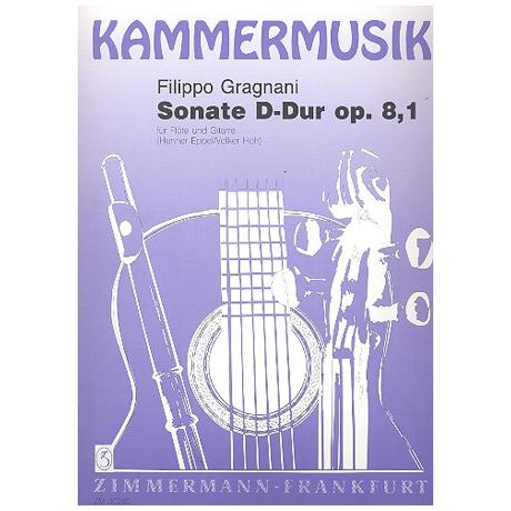 Gragnani, F.: Sonate D-Dur Op. 8,1