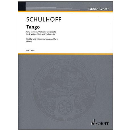 Schulhoff, E.: Tango (1922/2010)