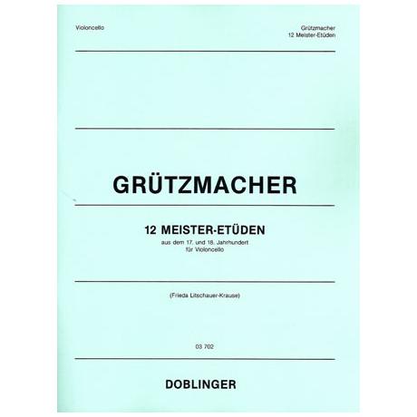 Grützmacher: 12 Meister-Etüden aus dem 17. und 18.Jhd.