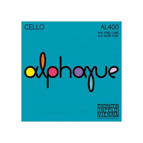 THOMASTIK Alphayue cello string D