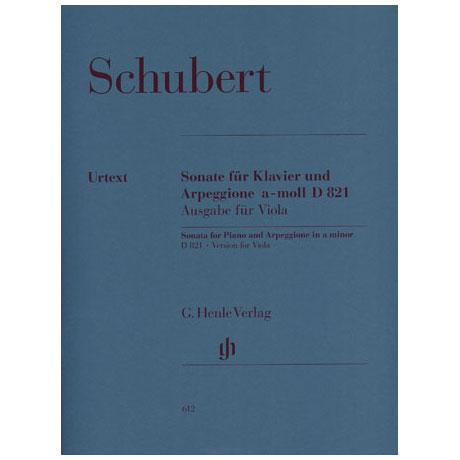Schubert, F.: Violasonate »Arpeggione-Sonate« D 821 a-Moll