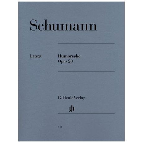 Schumann, R.: Humoreske B-Dur Op. 20