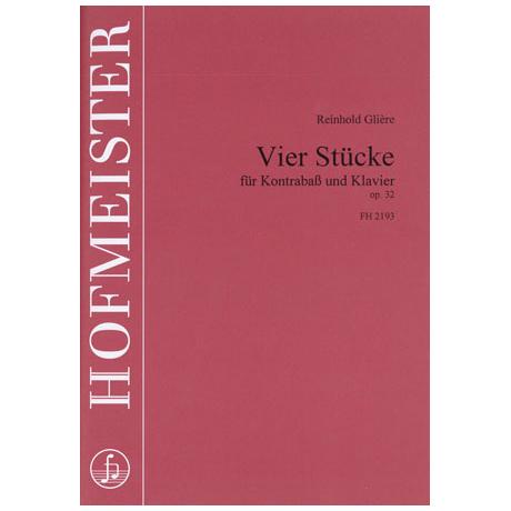Glière, R.: 4 Stücke Op. 32