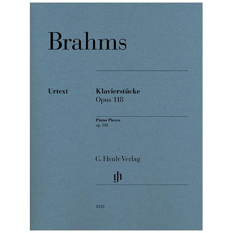Brahms, J.: Piano Pieces Op. 118/1-6