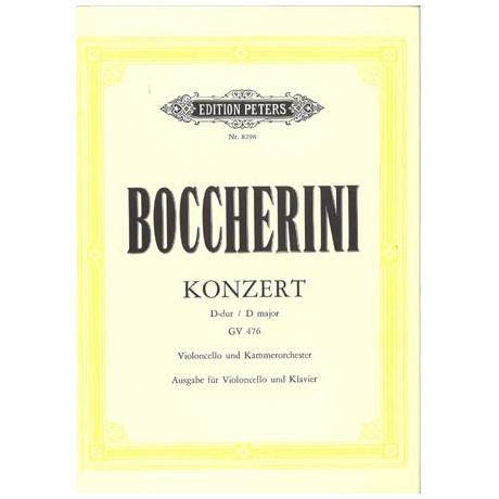 Boccherini, L.: Violoncellokonzert D-Dur GV 476